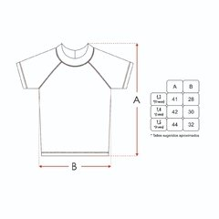 REMERA MANGA CORTA - LYCRA UV TAHITI - Mini Anima