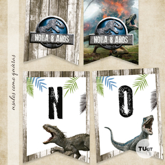 Imagen de Kit imprimible jurassic world tukit