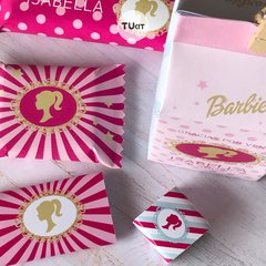 Kit Imprimible Barbie Candy Bar TuKit - TuKit