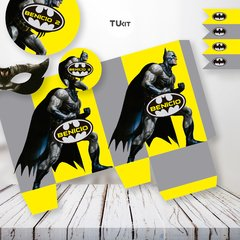 Kit Imprimible Batman Superheroes Cumpleaños Candy Bar - comprar online