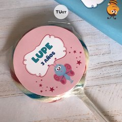 Kit Imprimible Bichikids Candy Bar TuKit - TuKit