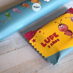 Kit Imprimible Bichikids Candy Bar TuKit - comprar online