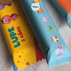 Kit Imprimible Bichikids Candy Bar TuKit