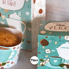 Kit imprimible deco coffee time cafe tukit - comprar online