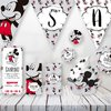 Kit Imprimible Mickey Mouse Candy Bar Cumpleaños