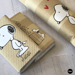 Kit Imprimible Deco Snoopy Kraft TuKit