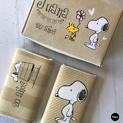 Kit Imprimible Deco Snoopy Kraft TuKit - comprar online