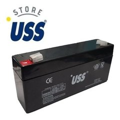 Bateria Recargable  Gel 6v 3.1 Ah Ups Vehiculos Luces