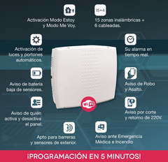Kit Alarma Casa Inalambrica Wifi Ip Marshall A  en internet