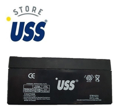 Bateria Recargable  Gel 6v 3.1 Ah Ups Vehiculos Luces - USS Store