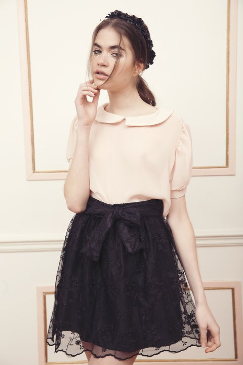 PARIS SKIRT {TULLE BORDADO} - comprar online