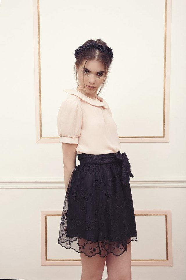 PARIS SKIRT {TULLE BORDADO} - JULI SANTINI BOUTIQUE