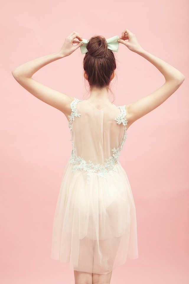 Image of TUILERIES DRESS {LARGO O CORTO}