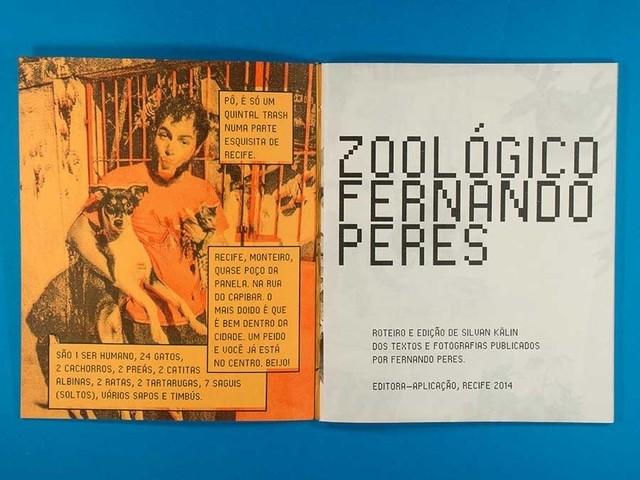 Zoológico Fernando Peres na internet