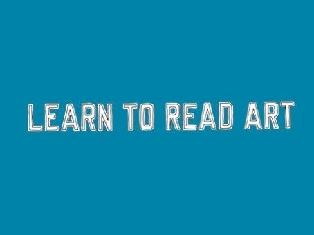 Learn to Read Art