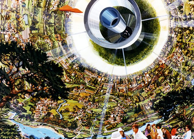 Space Colonies (NASA 1970) - Banca Tatuí - só independentes, sem preconceito!