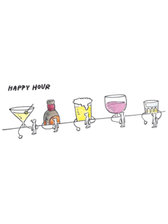 Happy Hour [PÔSTER]