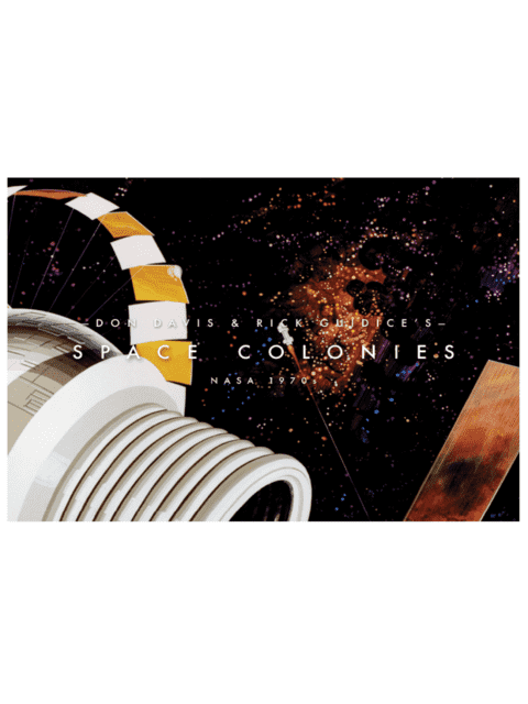 Space Colonies (NASA 1970)