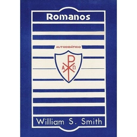 8631 - LIVRO A CARTA AOS ROMANOS WILLIAM S  SMITH