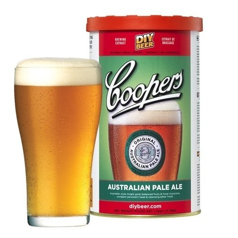 Australian Pale Ale - extracto Coopers en internet