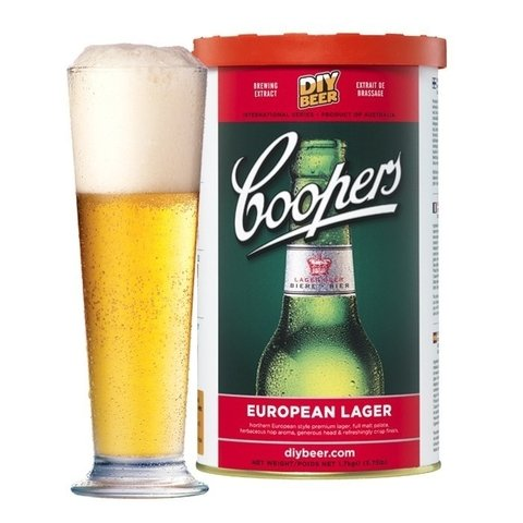 European Lager - extracto Coopers