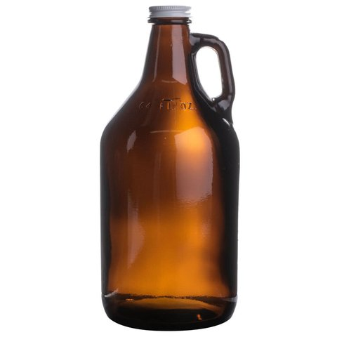 Botellón Growler Ámbar 1,9 Lts