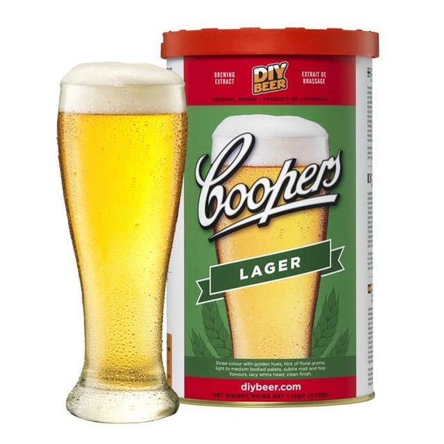 Lager - extracto Coopers en internet