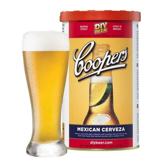 Mexican Lager - extracto Coopers - comprar online