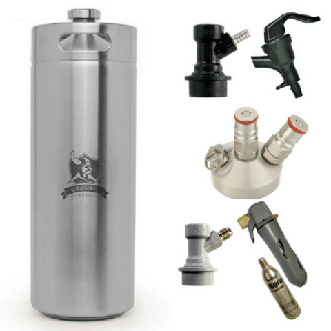 Kit Mini Keg Crovan 10Lts - Completo!