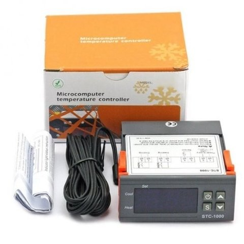 Termostato Digital STC-1000 Doble relay Frio/Calor