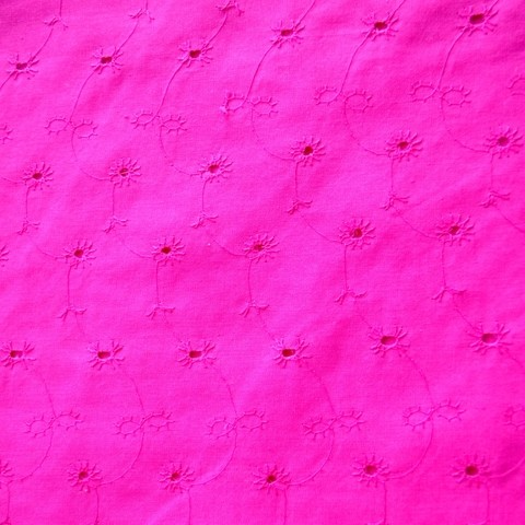 Broderie fucsia