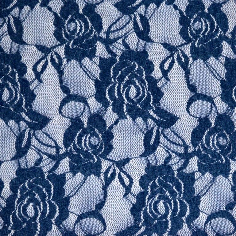 Venta de telas por metro encaje liviano azul - Telas para cortinas por metros online ...