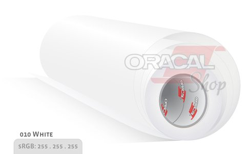 ORACAL 100 White 010 rollo 0,63 x 50mts
