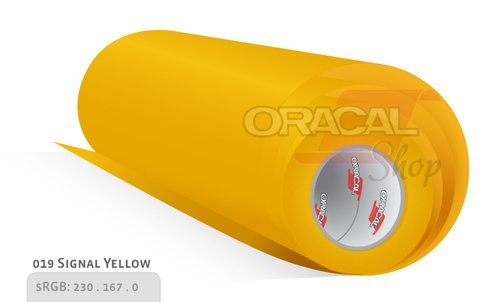 ORACAL 651  Signal yellow  019