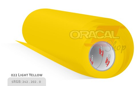 ORACAL 651 light yellow  022