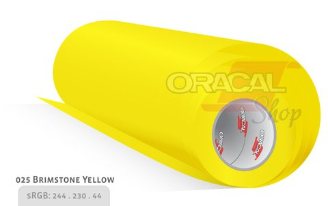 ORACAL 638 Wall Art Brimstone Yellow 025