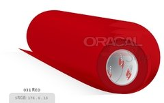 ORACAL 100 Red 031 rollo 0,63 x 50mts