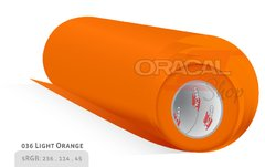 ORACAL 638 Wall Art Light Orange 036