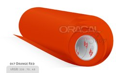 ORACAL 638 Wall Art Orange red 047