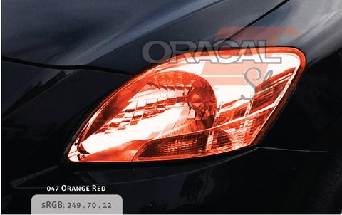 ORACAL SERIE 8300 Orange Red 047