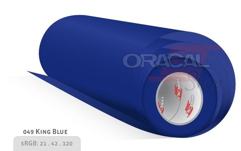 ORACAL 100 King blue 049 rollo 0,63 x 50mts