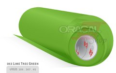 ORACAL 651 Lime-tree green 063