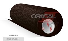 ORACAL 975CR brown 080 Premium Structure Cast Crocodile