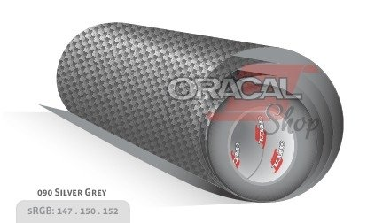 ORACAL 975CA SILVER GREY 090 Premium Structure Cast