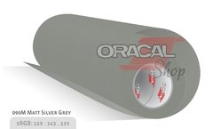 ORACAL 970M  Silver Grey Metallic Mate 090 Premium Wrapping Cast