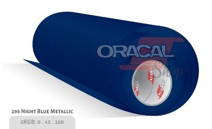 ORACAL 970M NIGHT BLUE METALLIC 196 Premium Wrapping Cast