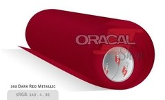 ORACAL 970M NIGHT DARK RED METALLIC 368 Premium Wrapping Cast