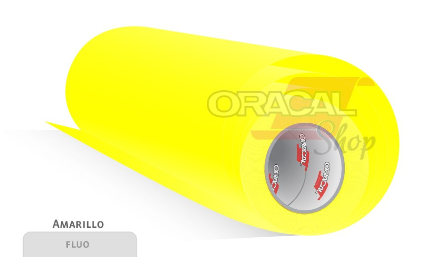 ORACAL 6510 Fluorescente fundido Yellow (029)