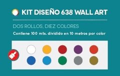 KIT  DISEÑO 638 WALL ART