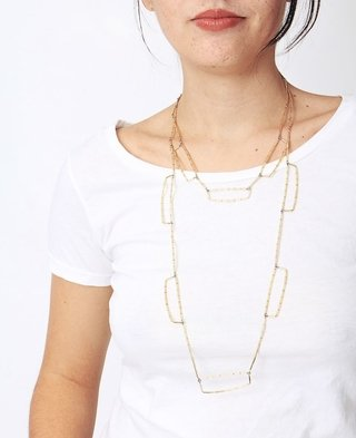 Collar Tallo Flecos en internet